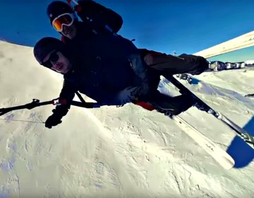 Ed Miller, head of visuals at immersiv.ly, took a 360-degree video rig to the slopes, and to the air, over Val Thorens, in the French Alps. Join him at the heart of the action as he glides by ski and through the air