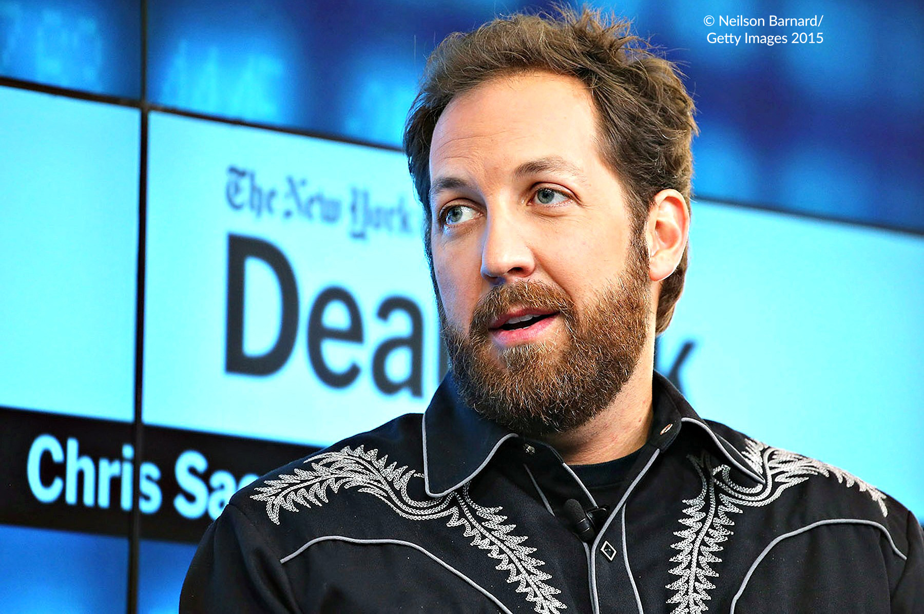 Chris Sacca speaking in New York, 2015