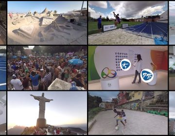 Experience beautiful Brazilian scenery, meet locals and Olympic officials, explore the Olympic venues, and watch athletes train in 360 at the Rio 2016 Olympic Games with immersiv.ly